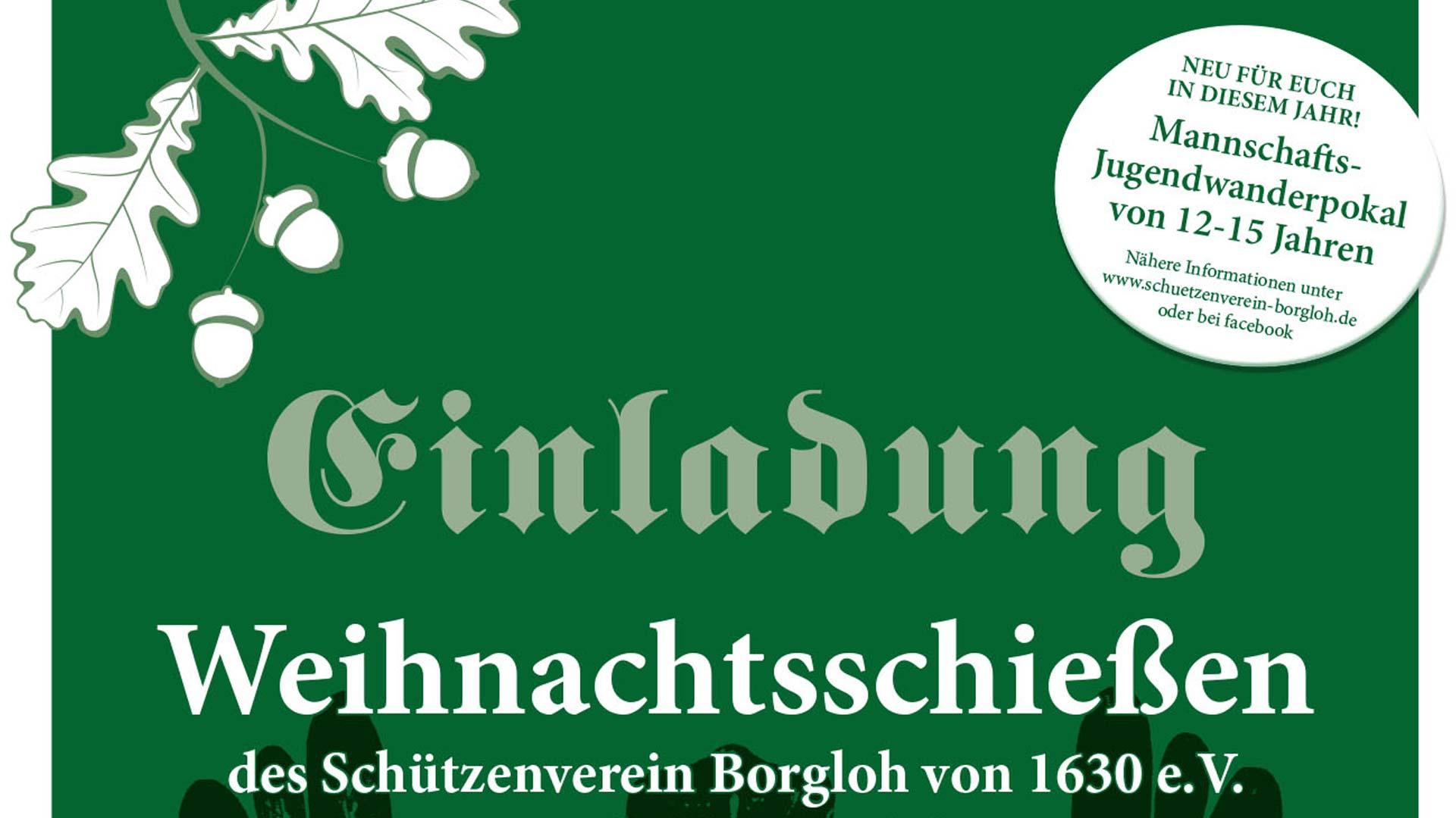 Weihnachtsschießen in Borgloh 2016